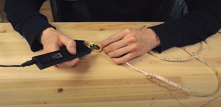 Montáž LED pásku