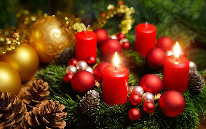 Na druhou adventní neděli zapálíme druhou svíčku na adventním kalendáři (Zdroj: Depositphotos)