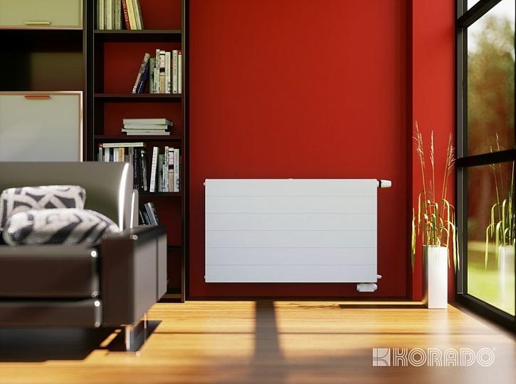 Úsporný deskový radiátor s řízeným zatékáním - RADIK RC