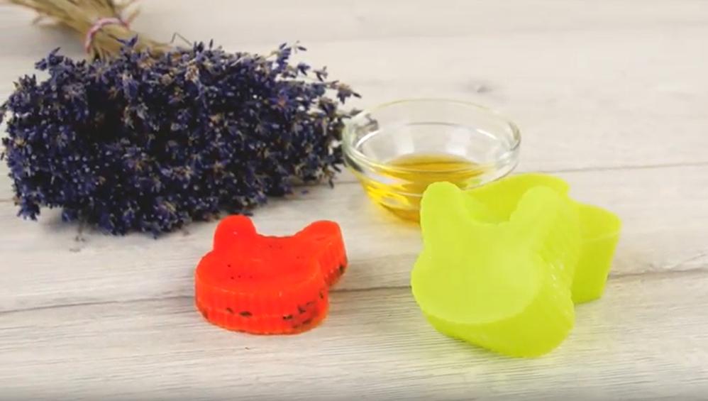 Domácí mýdlo s levandulovou vůní