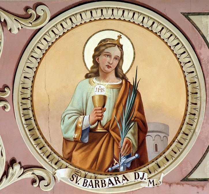 Svatá Barbora je spojována s tradicemi a svátkem (Zdroj: Depositphotos)
