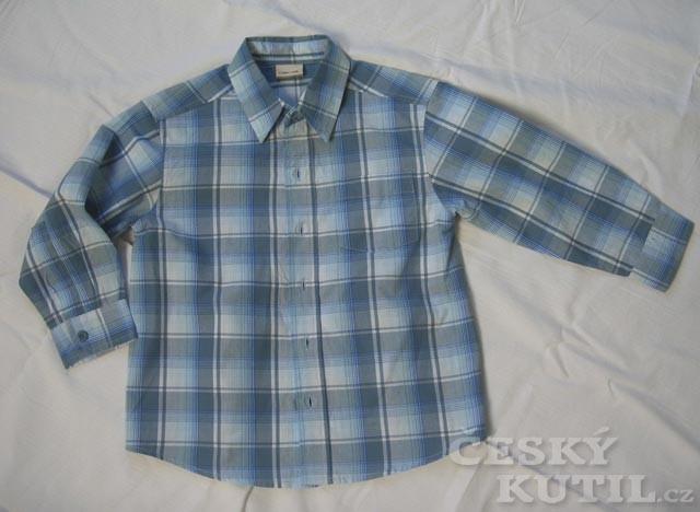 Zdobení dětské košile