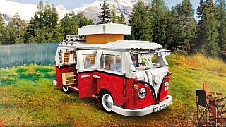 Zasoutěžte si o stavebnici LEGO Creator - obytný karavan Volkswagen T1 z roku 1962