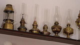 Unikátní sbírka petrolejových lamp