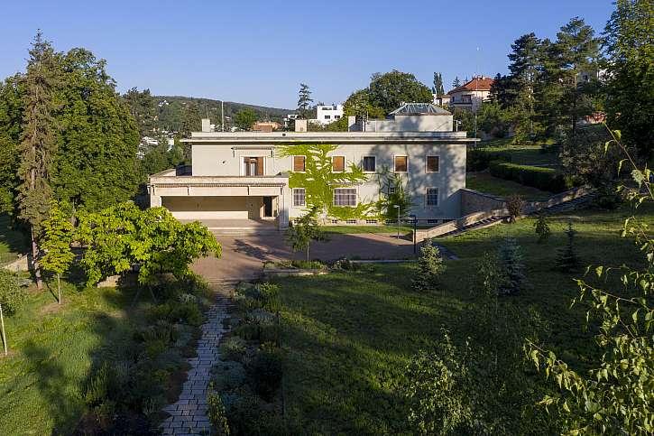"""Vila Stiassni, jedna ze skvostných brněnských """"vládních"""" vil je inspirativním místem pro potenciální budoucí projektanty či architekty"""