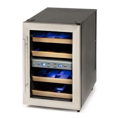 Dvouzónová termoelektrická vinotéka - DOMO DO909WK