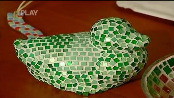 Výroba mozaikové dekorace