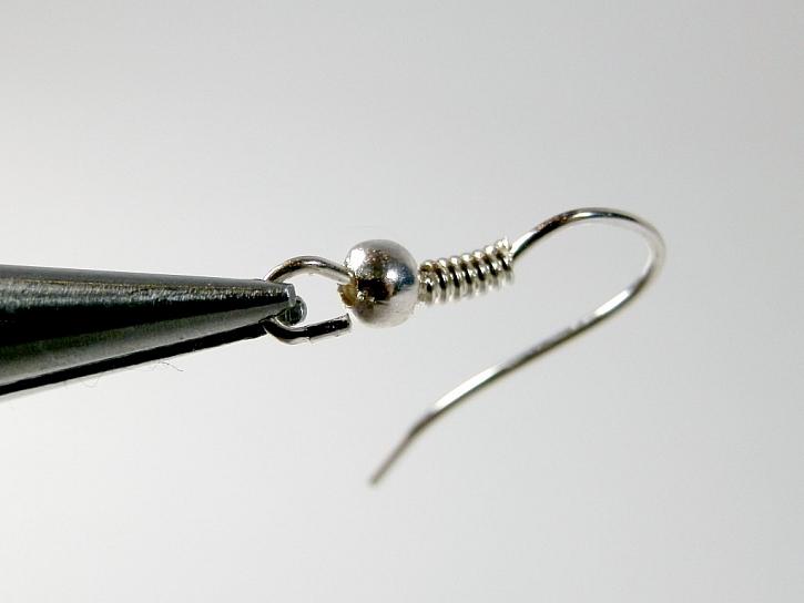 Řetízkáč - výroba náušnic s filigránovými kaplíky