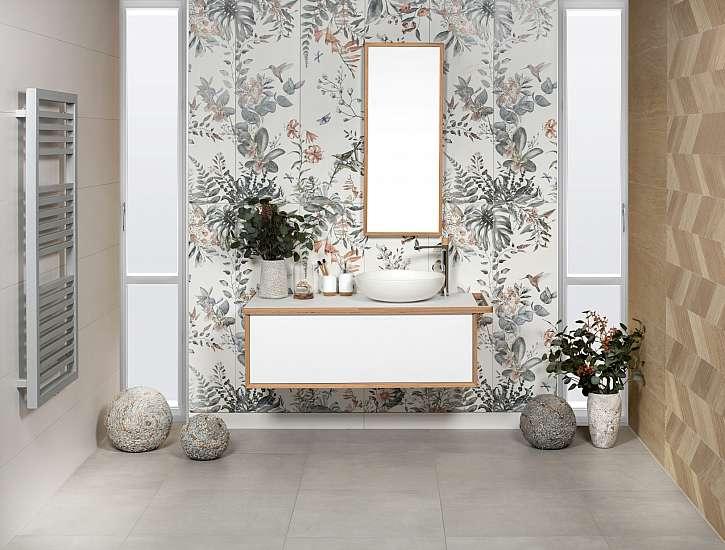 Koupelna květinová