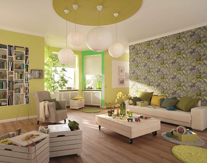 Když domov hraje barvami: Hladké barevné stěny, které zútulní každý interiér (Zdroj: Hornbach)