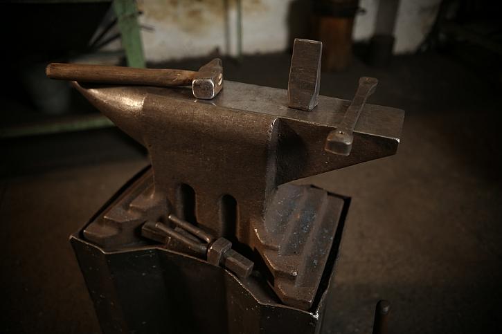 Kreativní kovář je zároveň umělec
