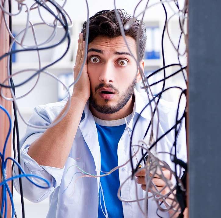 Ochraňte kabely, zajistíte jim delší životnost (Zdroj: Depositphotos (https://cz.depositphotos.com))