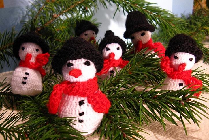 Jak si zdobíte na vánoce - pár ukázek z fotografií čtenářů