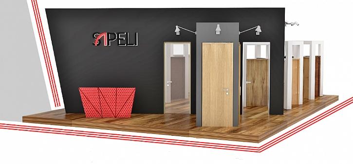 Interiérové a vstupní dveře do bytu SAPELI