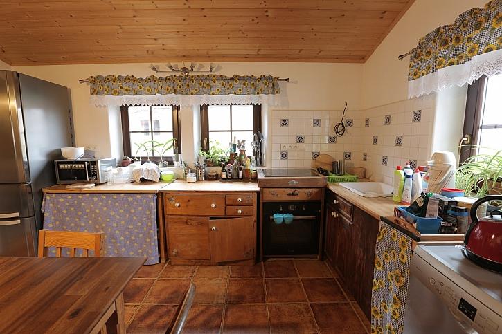 Kuchyň, okno