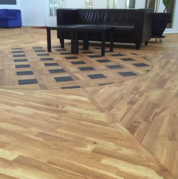 Použit dvousložkový olej na dřevěné podlahy UN1CO