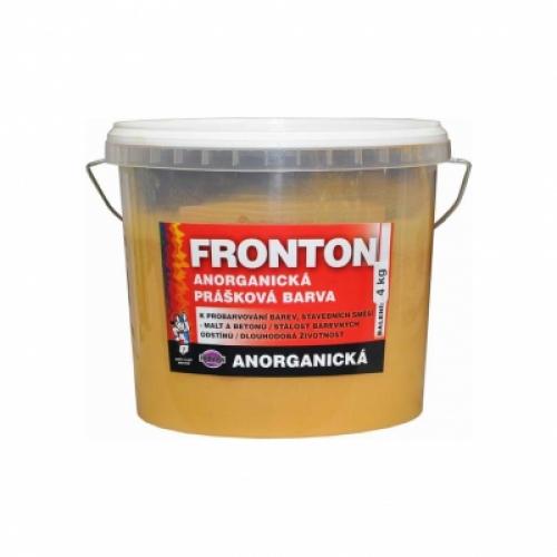 Fronton prášková barva do stavebních směsí malt a betonů, 0664 okrová, 4 kg