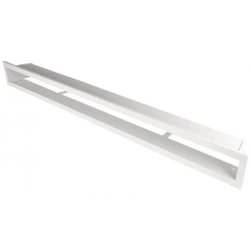 Krbová mřížka Otevřená 100x6cm bílá