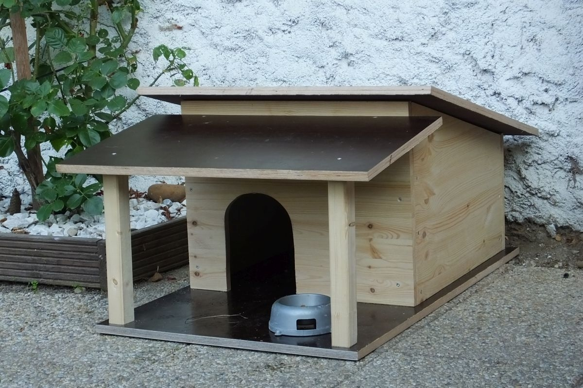 Vyrobte svému čtyřnohému mazlíčkovi pořádnou boudu