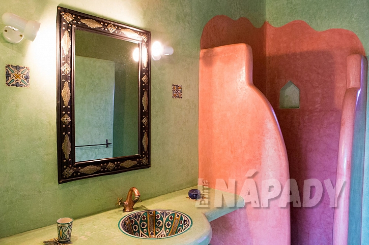 Klasická marocké koupelna