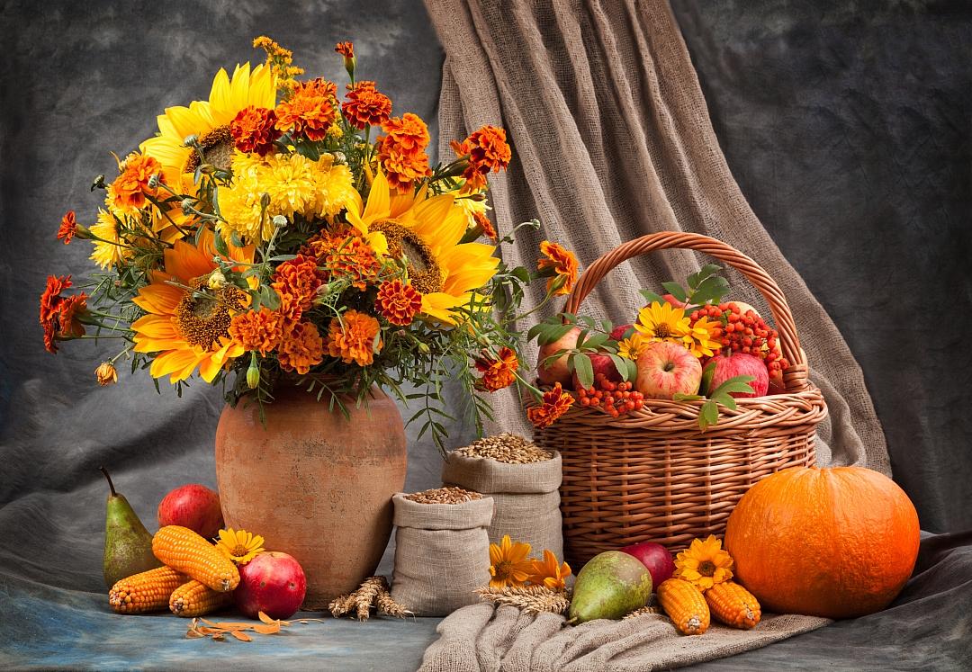 obrázek tématu: Podzimní dekorace