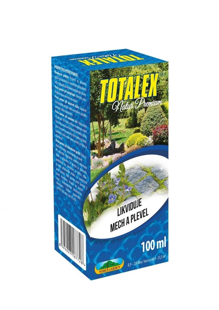 Totalex je herbicid jehož účinnou složku tvoří kyselina pelargonová, která se běžně vyskytuje v přírodě