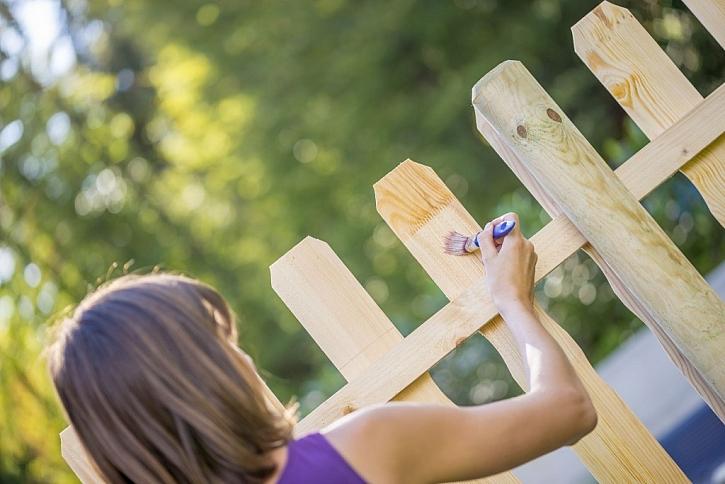 Důkladný nátěr pomůže k ochraně dřeva