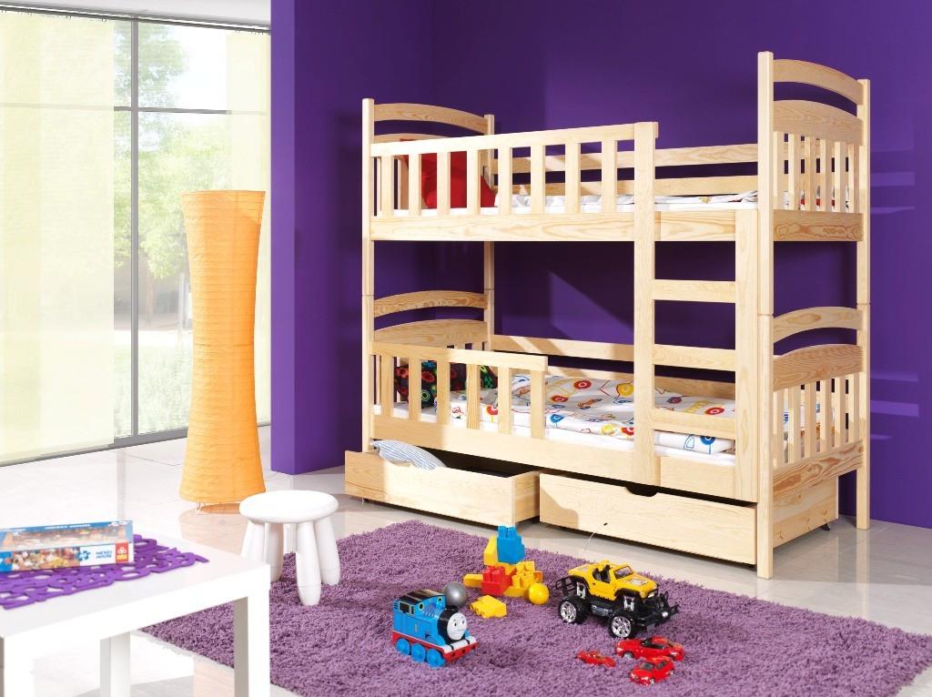 Máte malý dětský pokoj? Řešení: Patrová postel