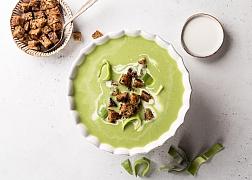 Jíme zdravě ze spíže - pórková polévka