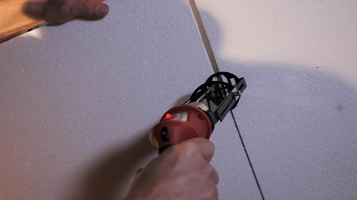 Jak řezat polystyren