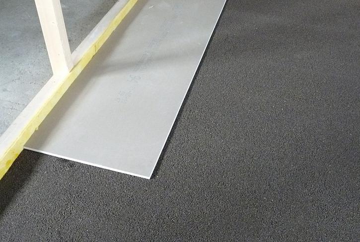 Nová plovoucí podlaha Liapor v extrémně krátkém čase