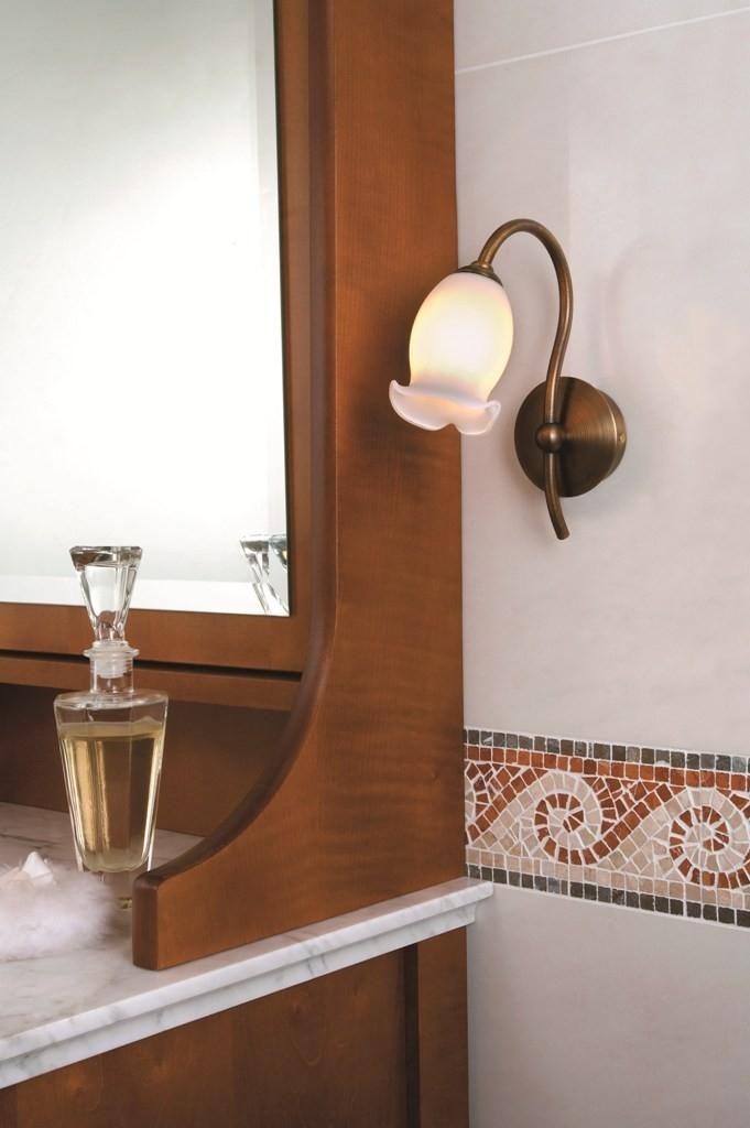 Svítidla dotváří styl koupelnového zařízení