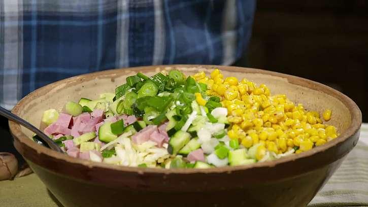 Ochucení salátu