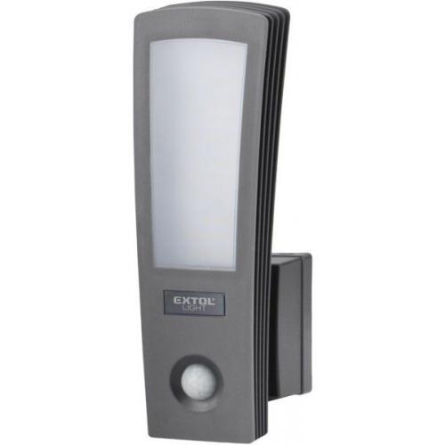 EXTOL LIGHT světlo LED, domovní, s pohybovým čidlem, 700lm