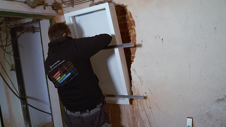 Proběhla instalace elektro rozvaděče technikem od partnera ELKOV elektro
