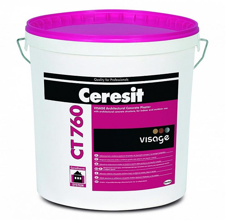 Imitace betonu – omítka Ceresit CT 760 VISAGE