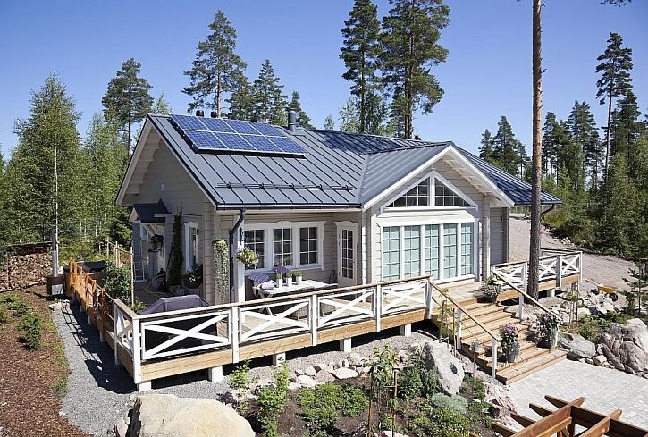 Skandinávský design vládne i střechám a fasádám