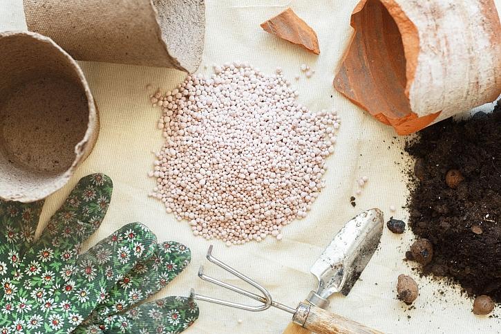 Granulované hnojivo