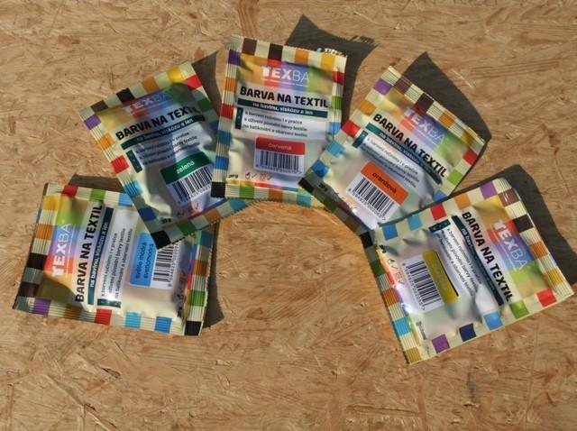 Obarvit se dá ledacos aneb vyzkoušejte barvu na textil Texbu