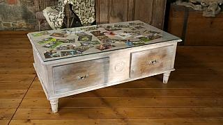 Vyrobte si krásný vzpomínkový stoleček