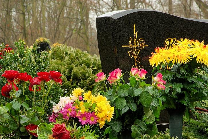 Na hrob jsou vhodné téměř všechny květiny (Zdroj: Depositphotos)