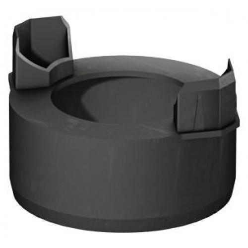 ACO HexaSelf -černá odtoková přípojka DN 100