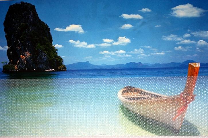 Mýtus 1: Černá plachta je nejlepší na ohřev bazénu.