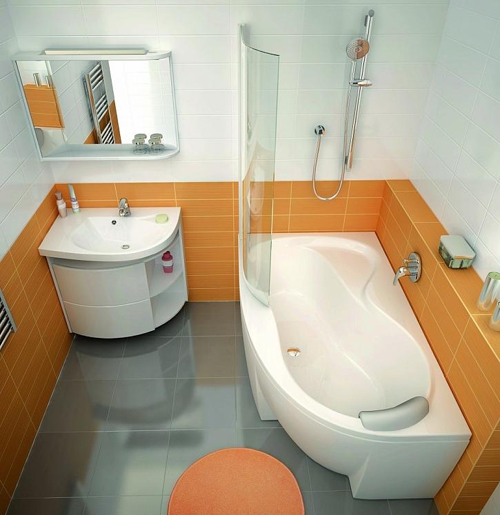 Vana do malé koupelny