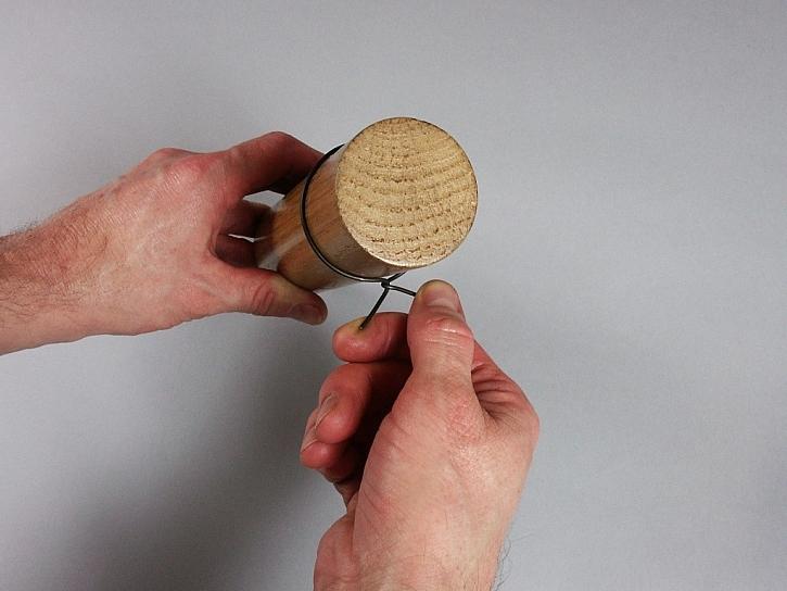 Návod na drátěný stojan na vajíčka
