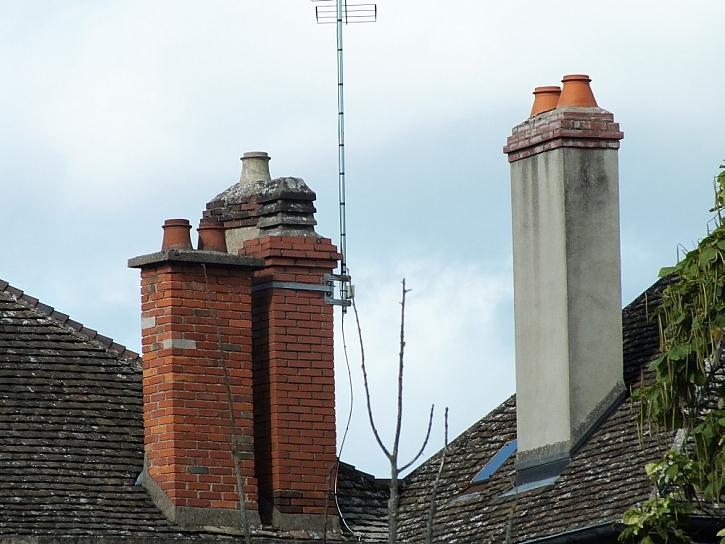 Opravy komínů