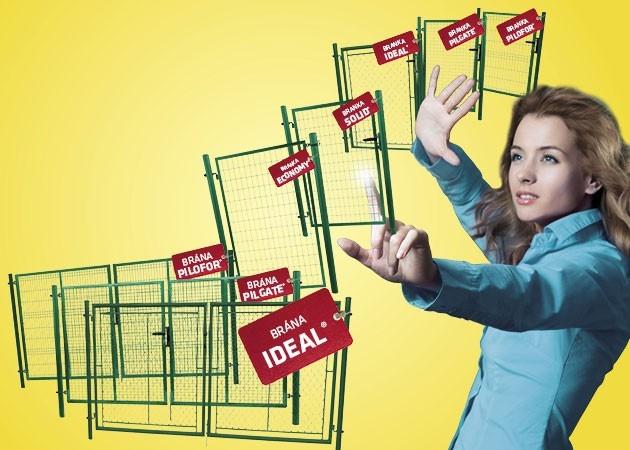 Světová novinka - univerzální brána IDEAL II. Od společnosti Pilecký na For Garden!