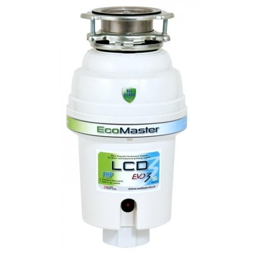 EcoMaster LCD EVO3 drtič kuchyňského odpadu