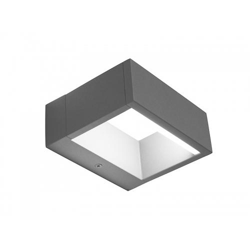 PANLUX TERMOLI N nástěnné LED zahradní svítidlo, neutrální