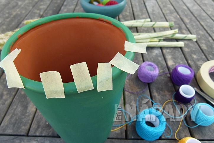 Jak vytvořit jednoduchou dekoraci z klásků: Dodejte barvy obilí! 8
